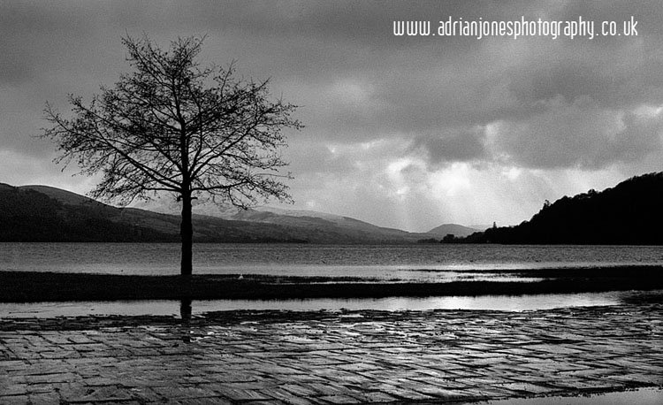 The above image was taken at bala lake in gwynedd wales a beautiful place i pulled onto the car park in the pouring rain it was dark grey i had
