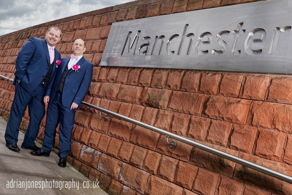 image of Gay Wedding Midland Hotel Manchester