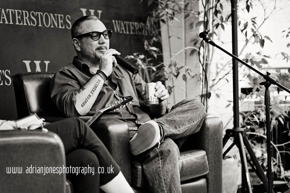 Huey-Morgan-Book-Tour-Waterstones-rebel-heroes