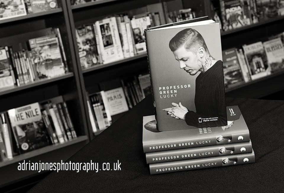Professor_Green_Lucky_Autobiography_Waterstones