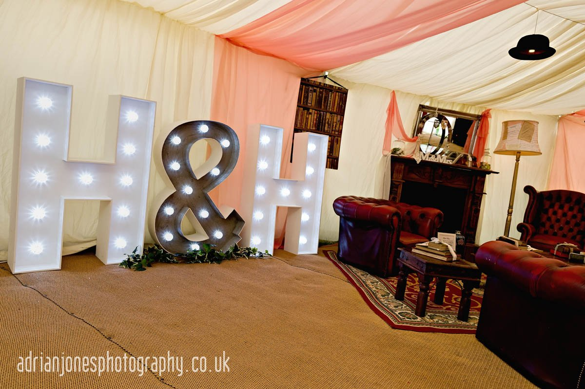 Deckerdence Bus Bar and Marquee Mobile Wedding Venue
