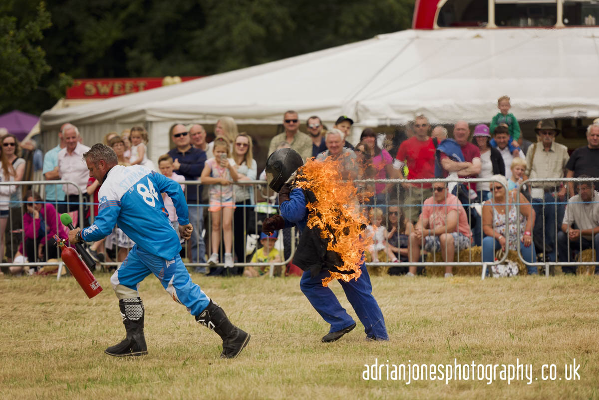 Stannage International Stunt Team at Whitacre & Shustoke Show B4