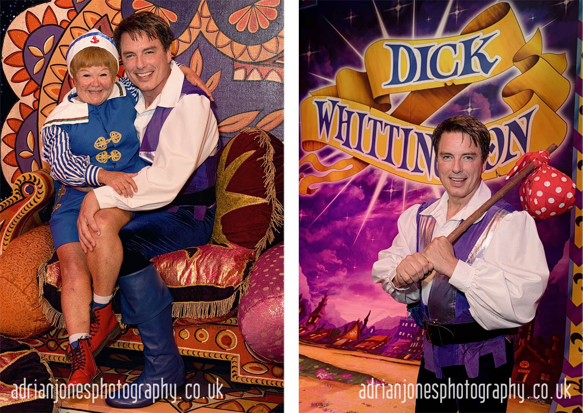 John Barrowman launches Birmingham Hippodrome 2016 Panto Dick Wh