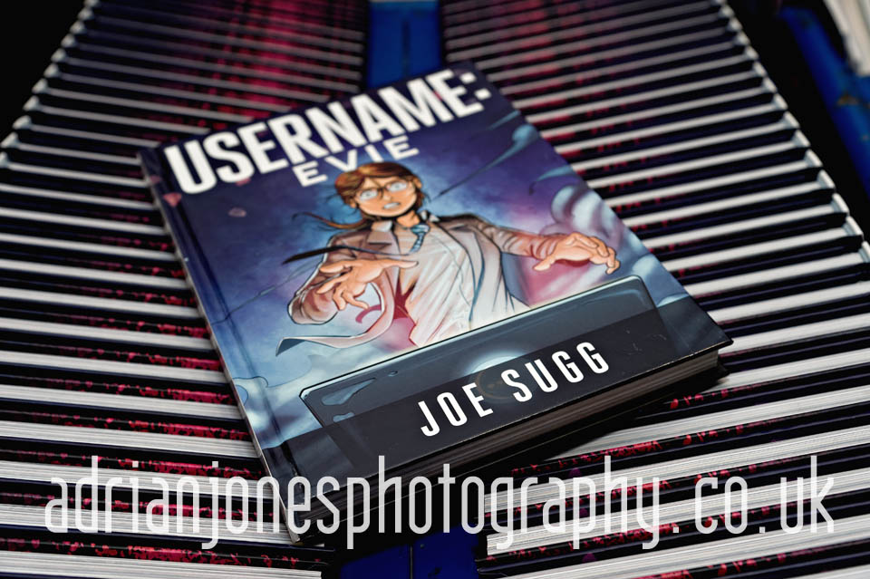 image of Joe Sugg Username Evie book