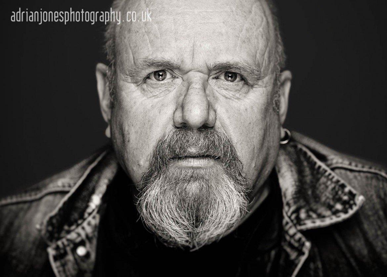 Cinematic Editorial Portrait Photography with Birmingham Biker Peter