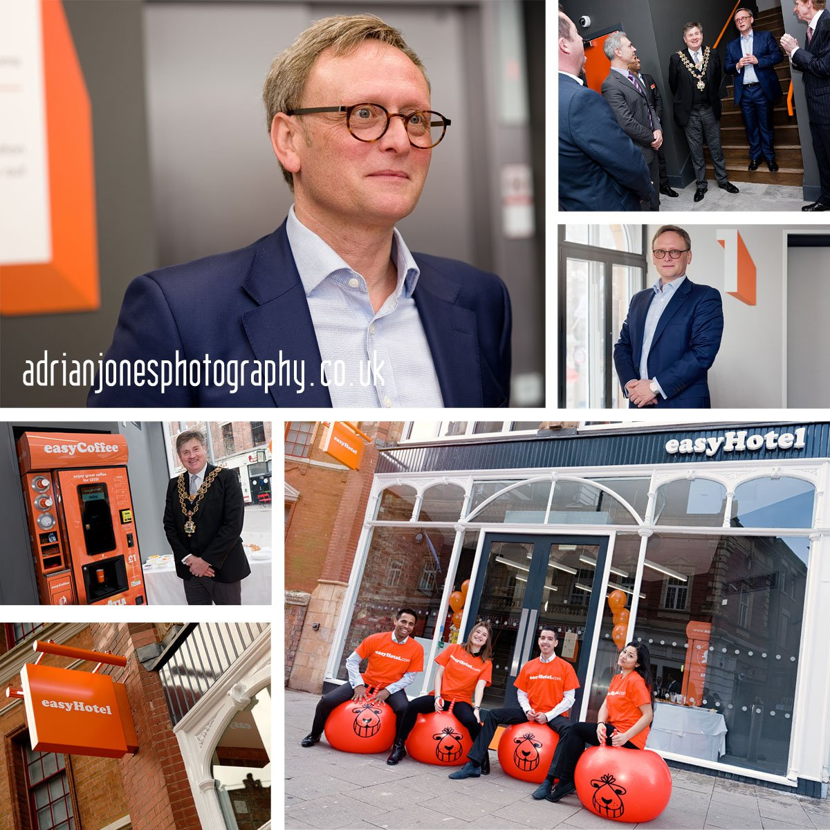 easyHotel Guy Parsons launches new Birmingham Budget Hotel