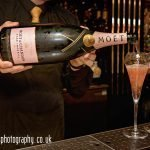Moet et Chandon Rose being poured