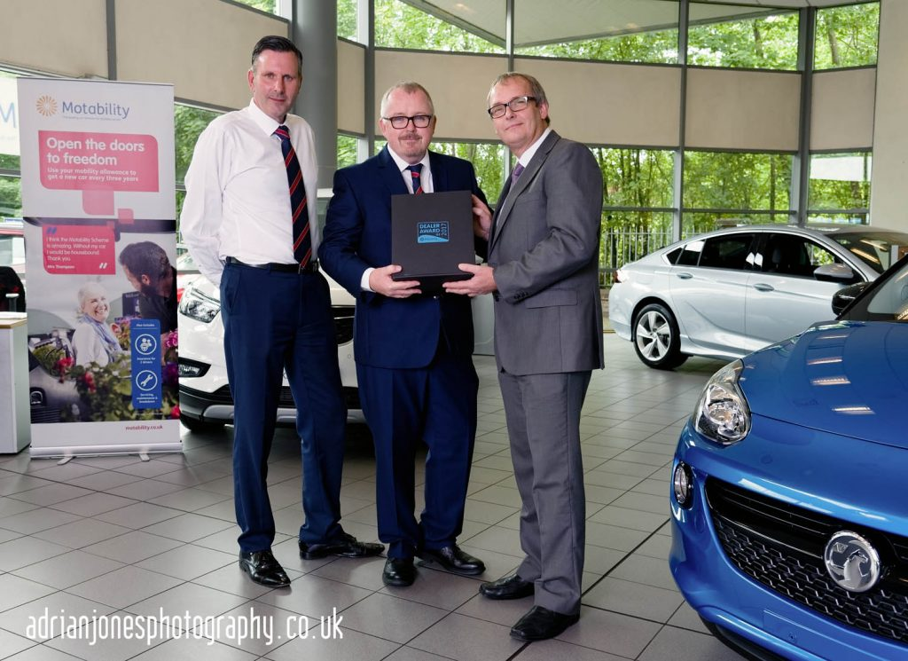 Charles-Friel-Lookers-Yardley-Motability-Award