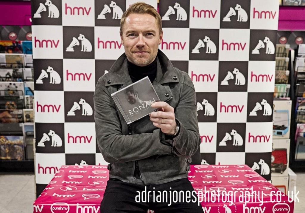Ronan Keating HMV Events Bullring Birmingham